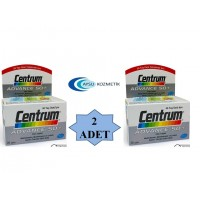 CENTRUM ADVANCE 50+ 30 TABLET TAKVİYE EDİCİ GIDA 2'Lİ PAKET