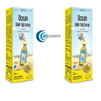 OCEAN LİMON AROMALI BALIK YAĞI ŞURUBU 150 ML 2'Lİ PAKET