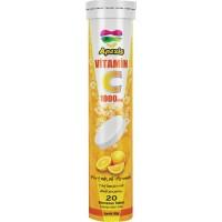 Apexis Vitamin C 1000 mg 20 Efervesan Tablet