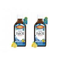 Carlson Limon Aromalı Balık Yağı Şurup 200ml 2'li Paket