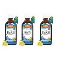 Carlson Limon Aromalı Balık Yağı Şurup 200ml 3'lü Paket