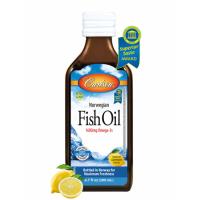 Carlson Limon Aromalı Balık Yağı Şurup 200ml