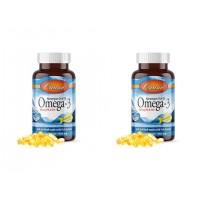 Carlson Omega3 Balık Yağı 1000mg 50 Kapsül 2'li Paket