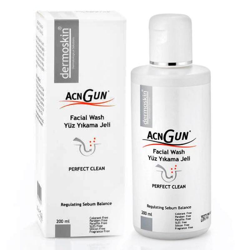Dermoskin Acnegun (AC Gun) Yüz Yıkama Jeli 200 ml