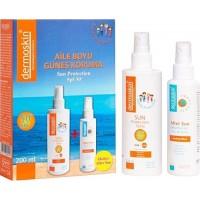 Dermoskin Sun Protection SPF 50 + Aile Boyu Güneş Koruma