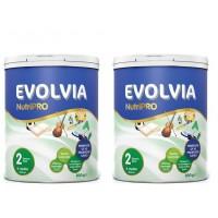 Evolvia 2 Bebek Maması 800 Gr 2'li Paket
