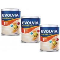 Evolvia 1 Bebek Sütü Nutripro Plus 800 gr 3 Adet