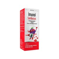 Imunol Sambucus Sanbucus Nigra C Vitamini Çinko Üzüm Çekirdeği Ekstresi 150 ml