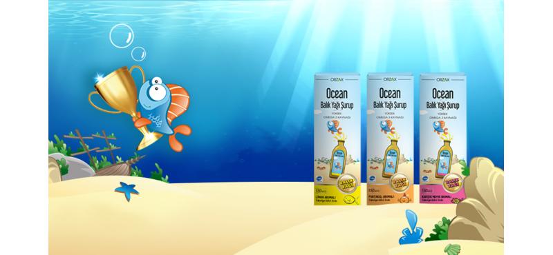 Ocean Balık Yağı Şurup