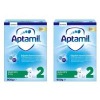 Aptamil 2 900 Gr Milupa Devam Sütü 2'li Paket
