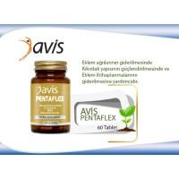 AVİS PENTAFLEX GLUCOSAMİNE SULFATE, MSM 60 Tablet (STT:04/2021)