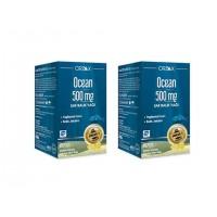 OCEAN 500 MG SAF BALIK YAĞI 60 KAPSÜL 2'Lİ PAKET